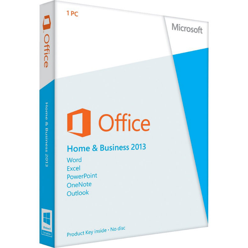MICROSOFT Office Home and Business 2013 [Retail]